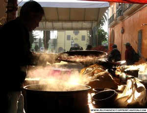The food on the streets and in the small markets is amazing.
