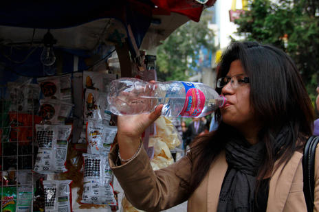 Even many local consume water in bottles in Mexico. From Deseret News