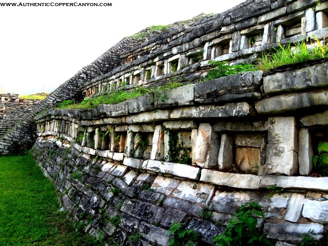 The ancient ruins at Yohualichan near Cuetzalan date much earlier than other central Mexico archaelogical sites.