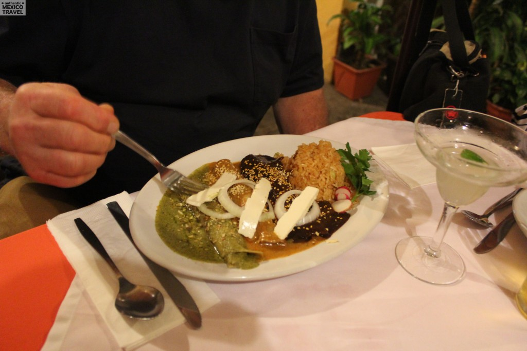 The foods of Puebla are delicious and unique.