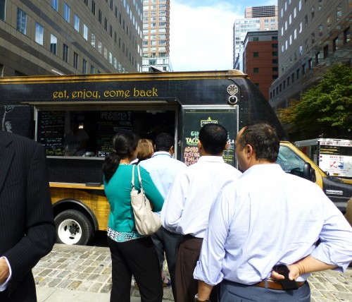 Food Trucks in NYC and Mexico City