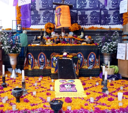 Puebla city for Day of the Dead